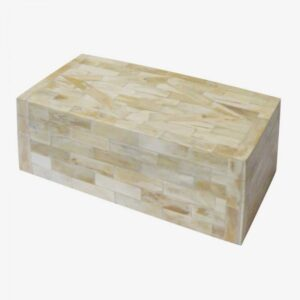 Caja hueso rectangular
