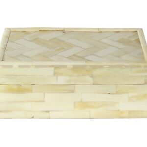 Caja hueso rectangular pq