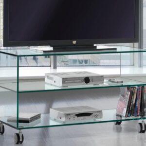 Carrito TV cristal