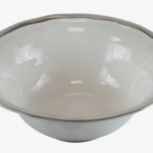 Ensaladera inglete aluminio-esmalte